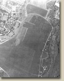 Aerial photograph of RAF Hornchurch in 1947